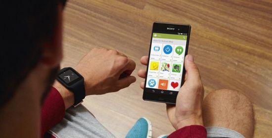 Sony SmartWatch 3 apps style=