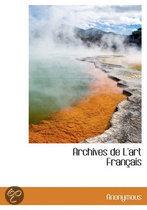 9781116353150 - . Anonymous - Archives De L'Art Francais