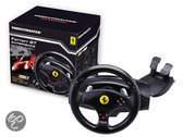 Thrustmaster Rumble Force Racestuur  - Ferrari GT Experience Zwart PC + PS3