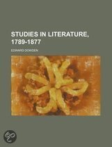 9781116354300 - Edward Dowden - Studies In Literature, 1789-1877