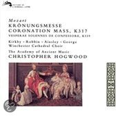 Mozart: Coronation Mass, Vespers, etc / Hogwood