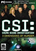 Csi: Crime Scene Investigation Dimensions Of
