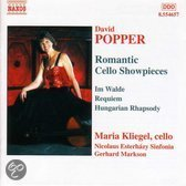 Popper: Romantic Cello Showpieces - Im Walde, Requiem etc / Kliegel et al