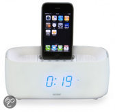Denver ifm-15 - docking station met wekkerradio voor ipod en iphone - wit