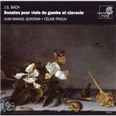 Bach: Sonates pour viole de gambe et clavecin / Quintana, Frisch