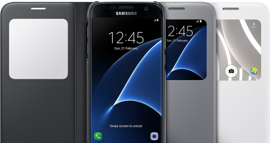Samsung S View Cover voor Samsung Galaxy S7 3