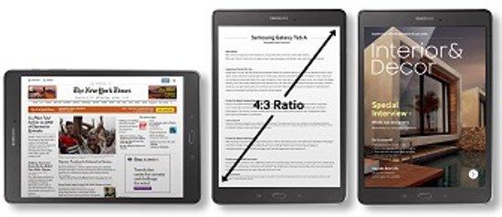 De tablets van Samsung