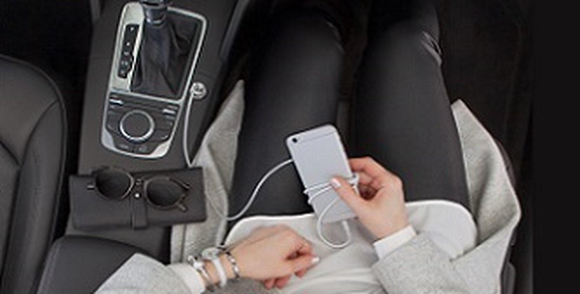 USB-C autoladers van Belkin