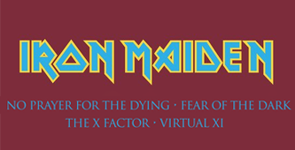 Iron Maiden Reissues