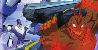 Batman, Mech vs Mutants