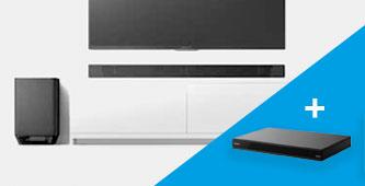 Gratis Sony 4k Blu-ray speler