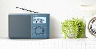 Sony DAB+ radio's