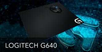 Gratis Logitech G640 Muismat