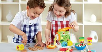 Koken & bakken met Play-Doh