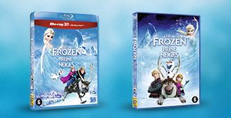 Bekijk de Frozen dvd en blu-ray