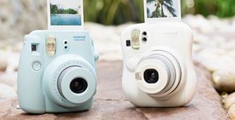 De trend van nu: instant camera's