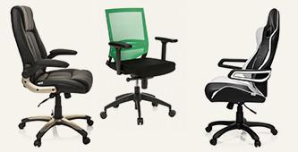 Comfortabele bureaustoelen