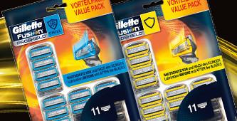 Gillette grootverpakkingen