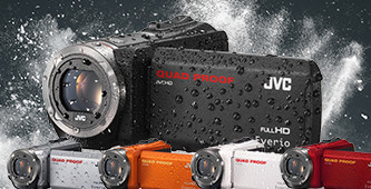 JVC Quad Proof Camcorders