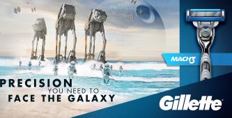 Gillette Star Wars geschenkset