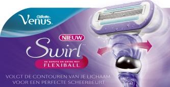 Nieuw: Gillette Venus Swirl