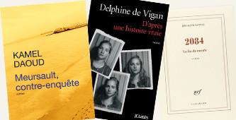 Franse literatuurprijzen 2015