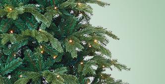 Kunstkerstbomen inclusief verlichting