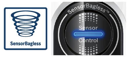 Bosch steelstofzuiger athlet sensor bagless