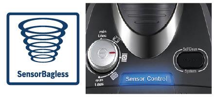 Bosch zakloze stofzuigers sensor bagless