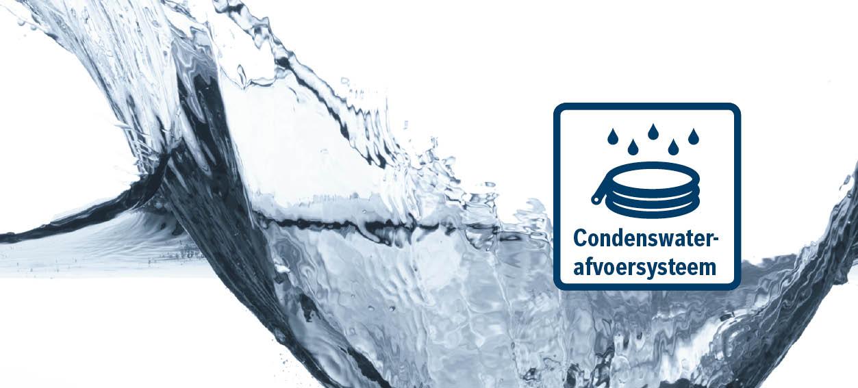 Bosch condenswater afvoersysteem