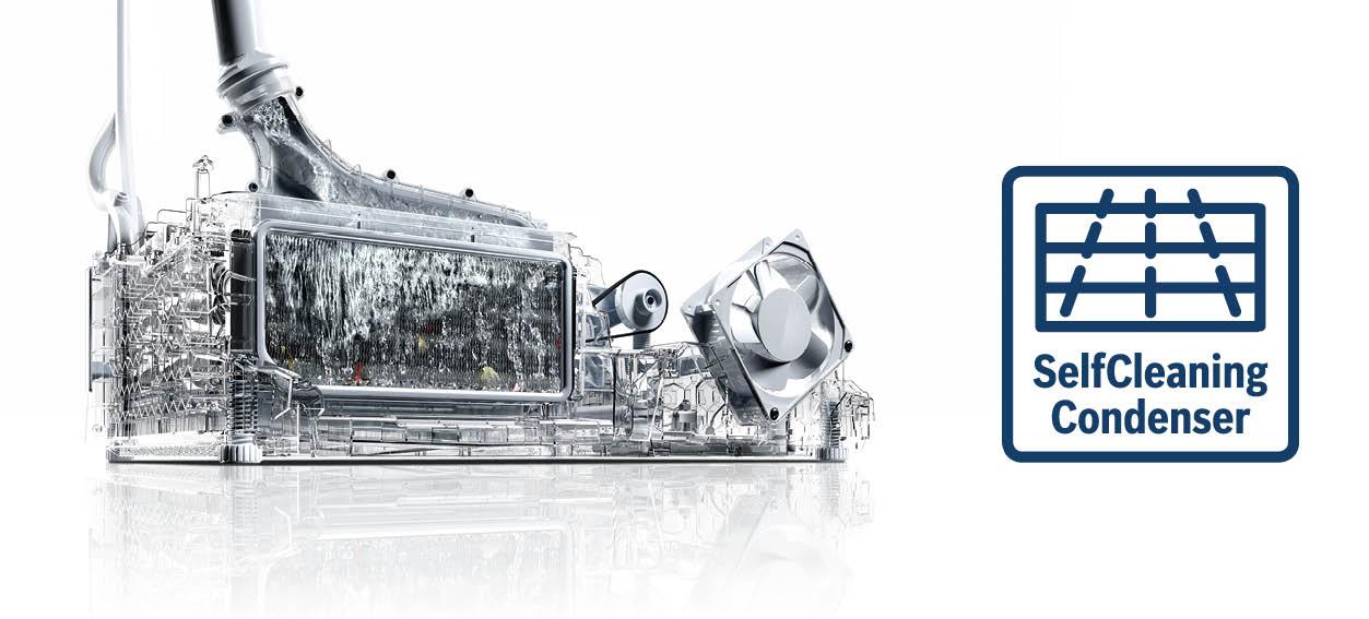 Bosch Zelfreinigende condensor