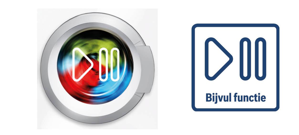 Bosch wasmachine pauze functie