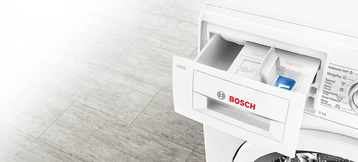 Bosch wasmachine zelfreinigende wasmiddellade