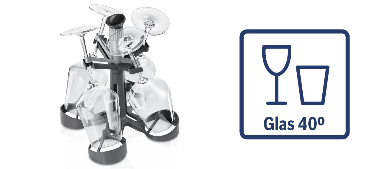Bosch glazenprogramma 40 graden