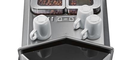 Siemens espressomachine EQ9 warmhoudplaat