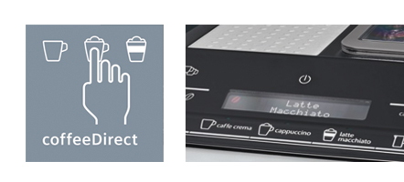 Siemens Espressomachine EQ3 coffeedirect