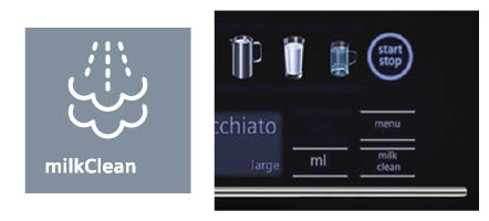 Siemens Espressomachine EQ6 Milkclean