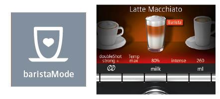 Siemens espressomachine EQ9 BaristaMode