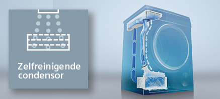 Siemens zelfreinigende condensor