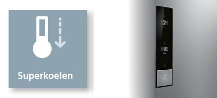 Siemens koelenvriezen SuperKoelen