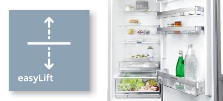 Siemens koelenvriezen easylift