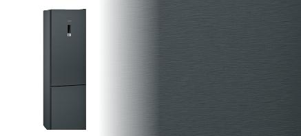 Siemens koelenvriezen zwart inox