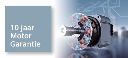 Siemens 10 jaar motorgarantie