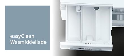 Siemens wasmachine zelfreinigende wasmiddellade