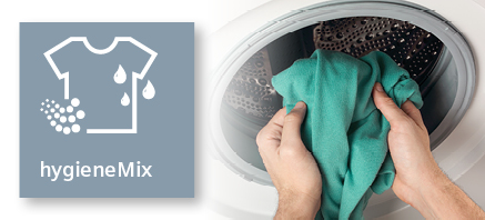 Siemens wasmachine hygienemix