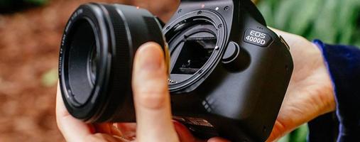 Canon 4000D lens Spiegelreflexcamera