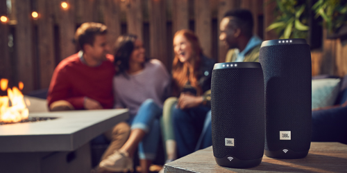 JBL Link 10 bluetooth speaker met Google Assistent