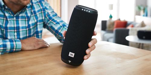 JBL Link 20 bluetooth speaker met Google Voice Assistent
