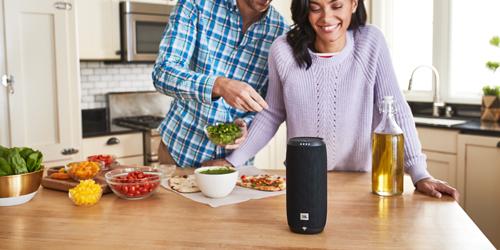 JBL Link 20 bluetooth speaker met Google Assistent