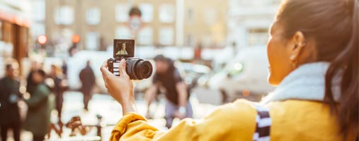 Canon M100 selfie